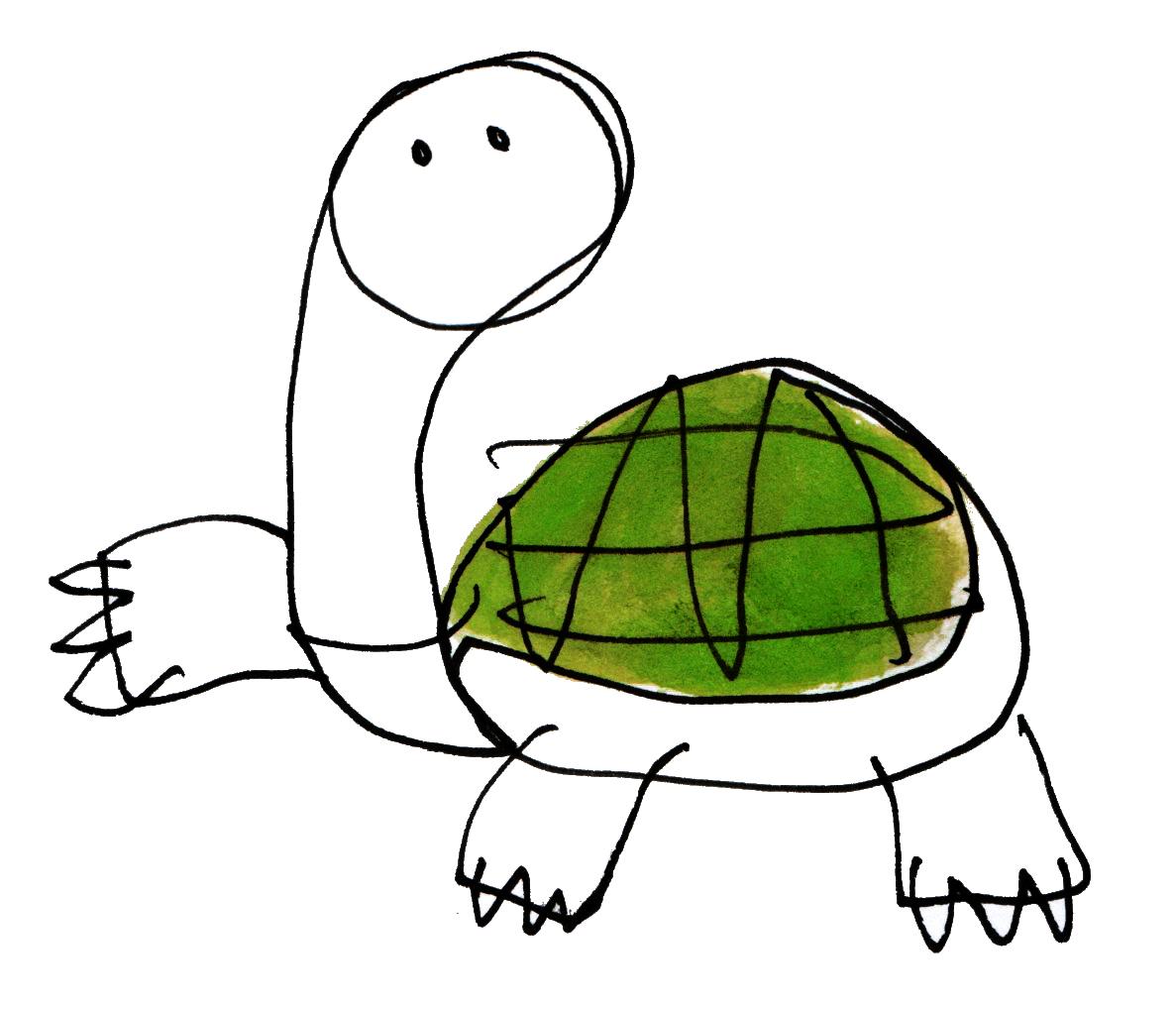 El dibujo es de J.