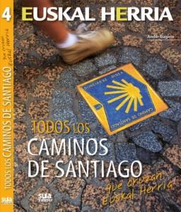 Todos los Caminos de Santiago que cruzan Euskal Herria