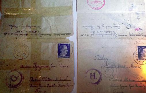 André Izaguirre cartas