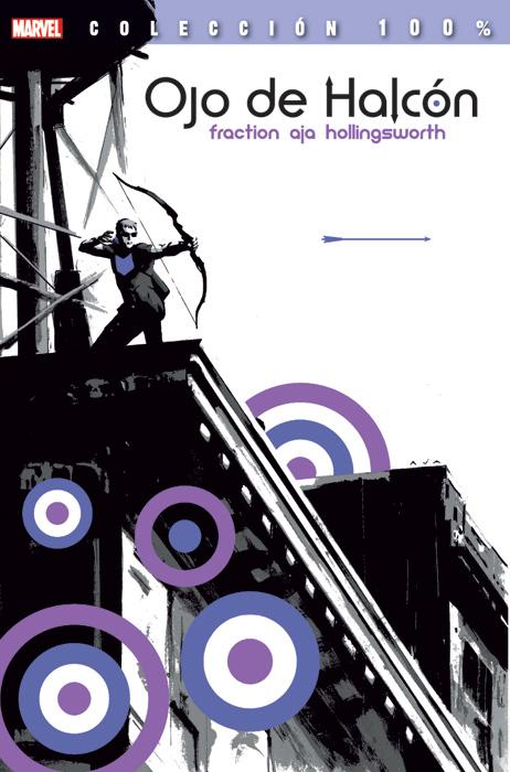 ojo-de-halcon-100-Marvel-Panini-portada-fraction-aja