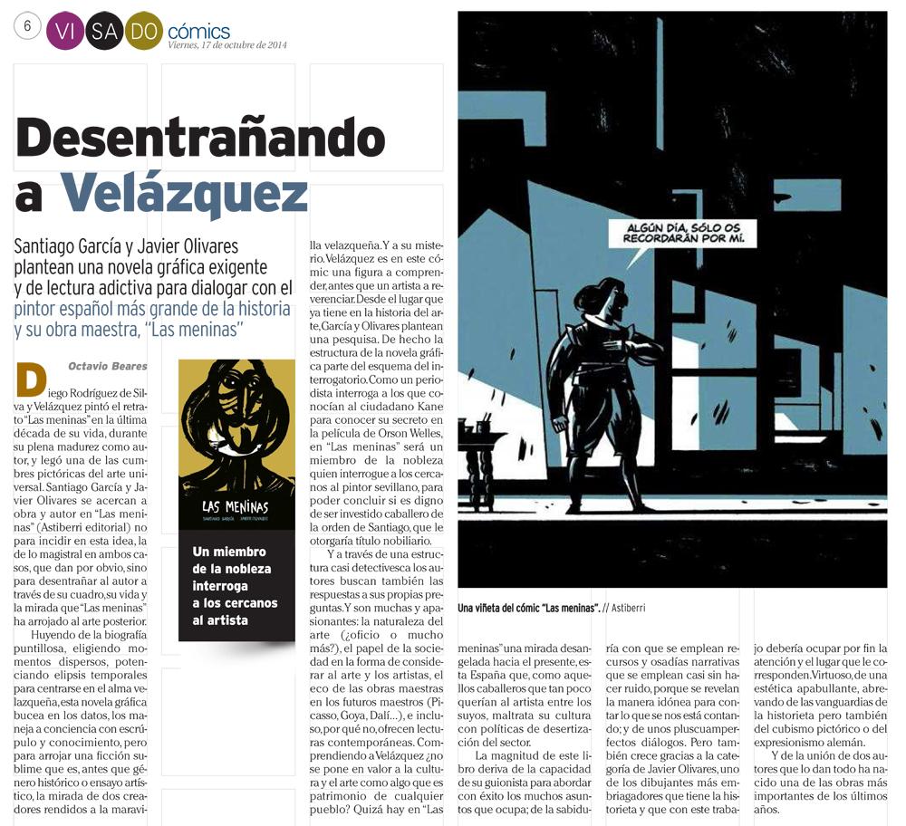 : Visado : Página 6 Cómic Velázquez