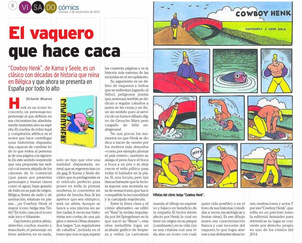 : Visado : Página 6 Cómics Cowboy Henk