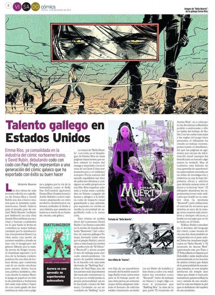 : Visado : Página 6 Cómics Ríos y Rubín