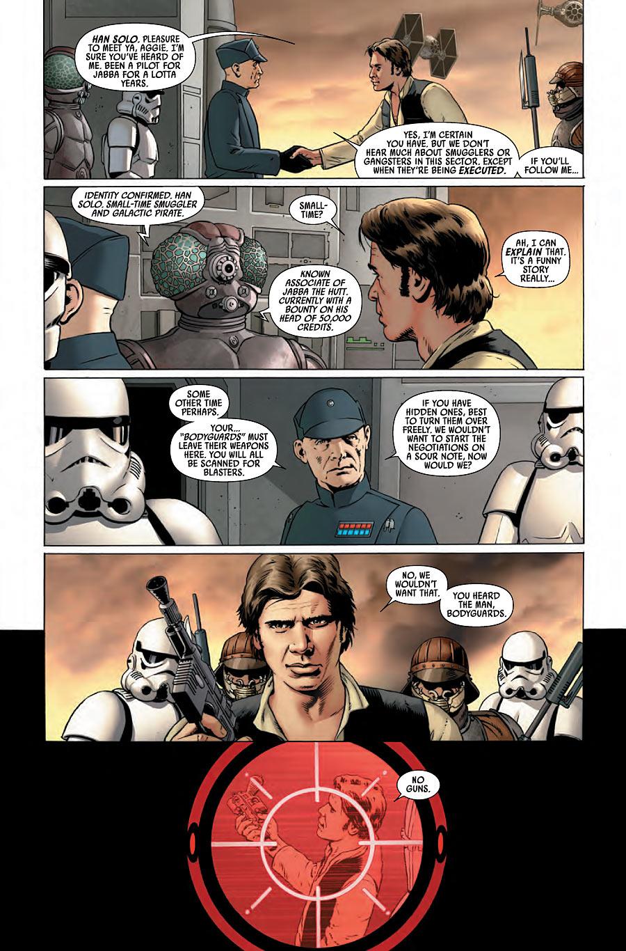 Usted está en el cine. Star Wars 01, 2015, Aaron y Cassaday