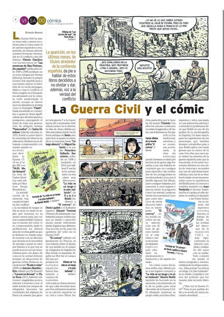 : Visado : Página 4 Cómics Guerra Civil