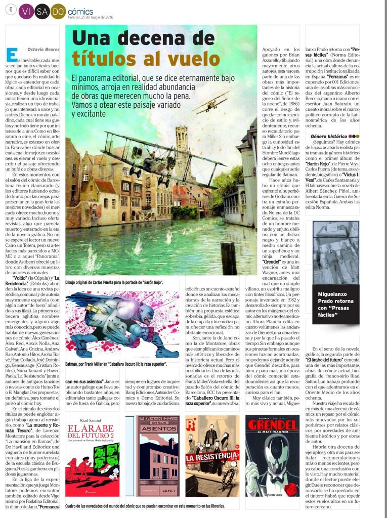 : Visado : Página 6 Cómics 27 mayo