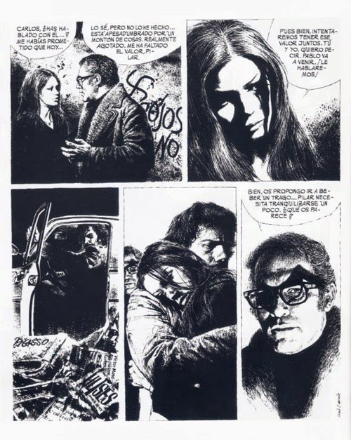 Las crónicas del sin nombre, cómic adulto por Mora y Luis García