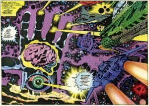EL Cuarto Mundo, Jack Kirby estalla en tu cabeza
