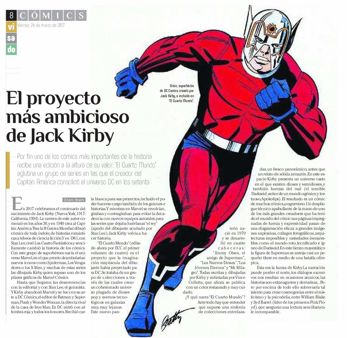 EL CUARTO MUNDO DE JACK KIRBY » Serie de viñetas. Blog sobre cómics ...
