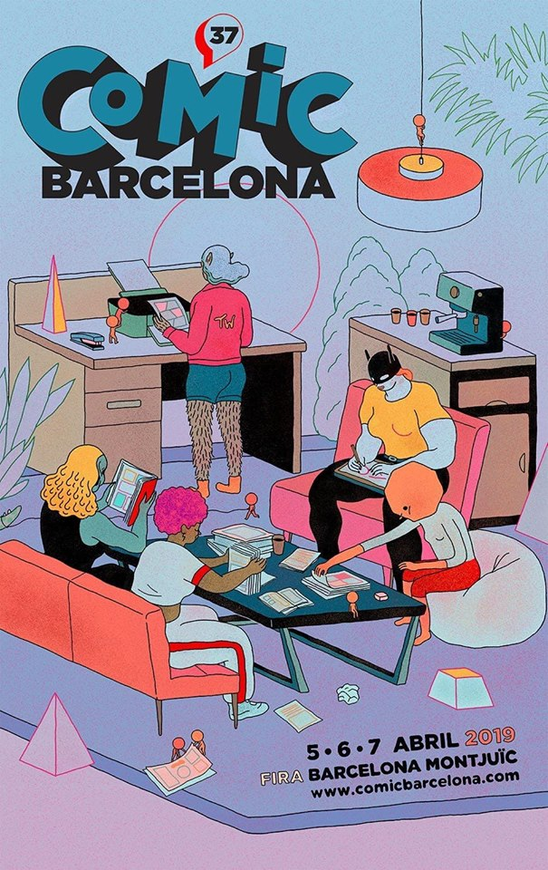Cartel Comic Barcelona 2019