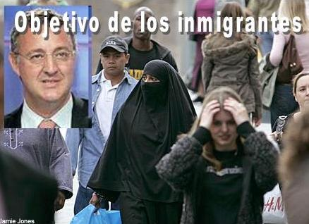 Chuchi Caldera, principal irresponsable de la inmigración