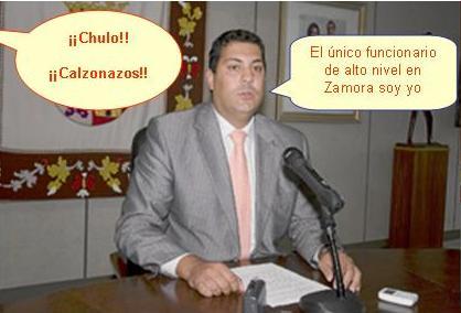 El delegado territorial de Zamora, José Alberto Castro Cañibano, durante una comparecencia