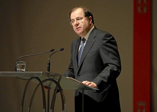 Juan Vicente Herrera, todavia presidente de Castilla y León