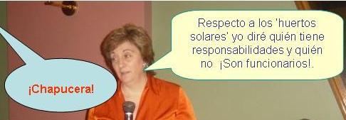 Mª Jesús Ruiz, vicepresidenta del Gobierno Herrera