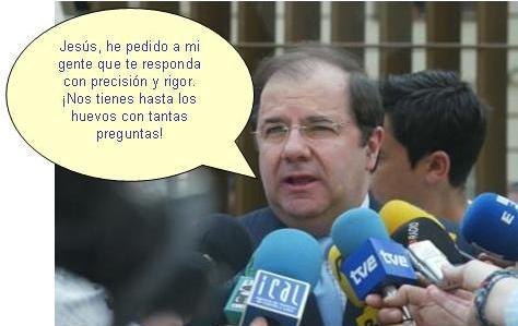 Juan Vicente Herrera nos responde con rigor