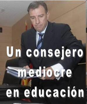 """Juan José Mateos, consejero de educación de """"Juanvi"""" Herrera"""