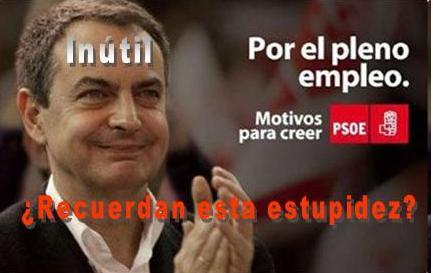 Inútil presidente para el futuro de España