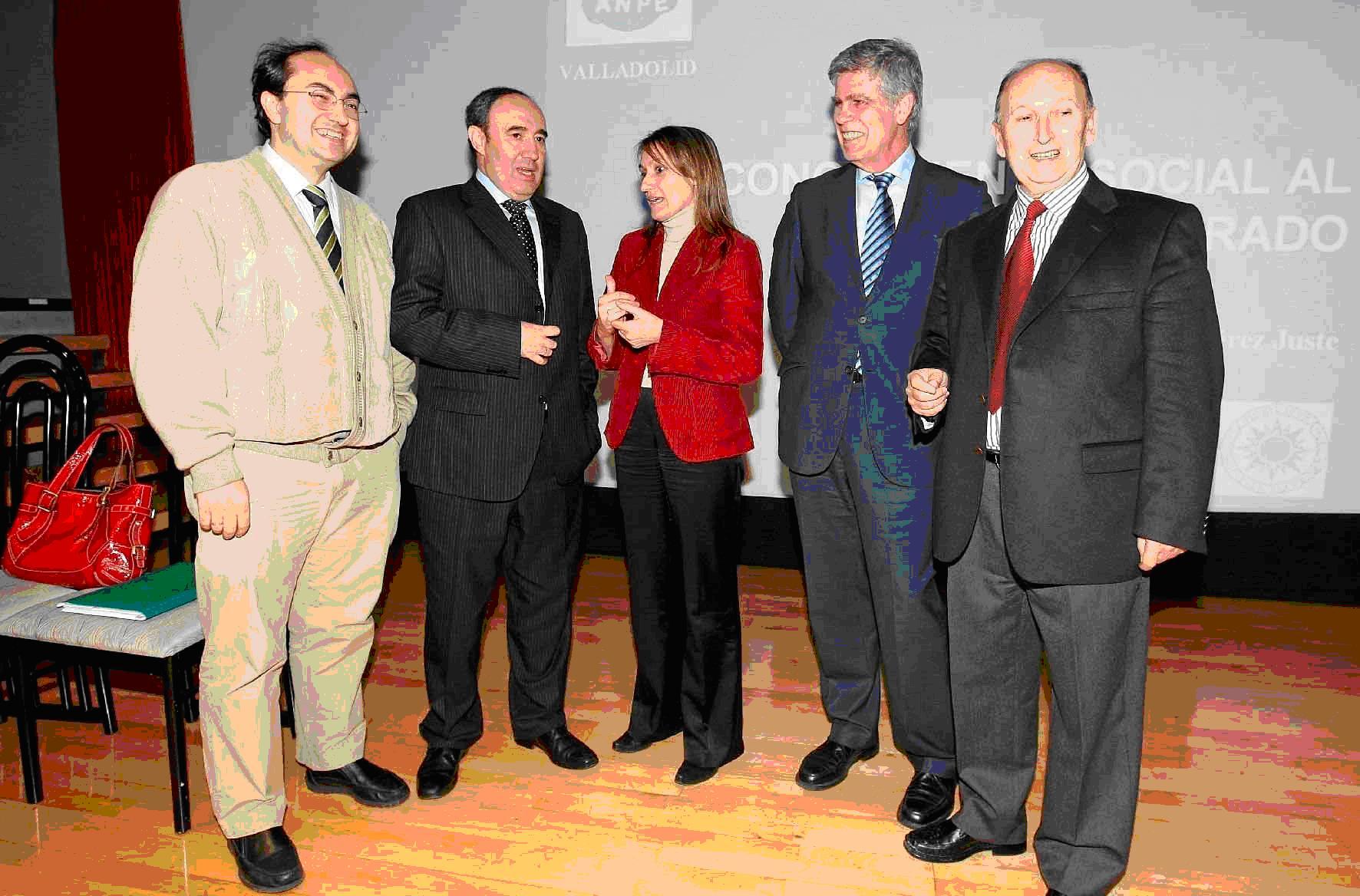 Vidal Arranz, Fernández Guisado, Rocio Lucas, Pérez Juste y Villar