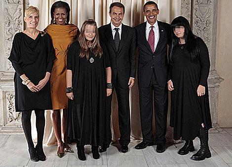 Los Obama y los Zapatero en el Metropolitan. | L. Jackson | Casa Blanca