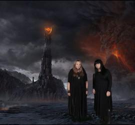Las niñas 'gótico-satánicas' de ZP en la noche de los tiempo.