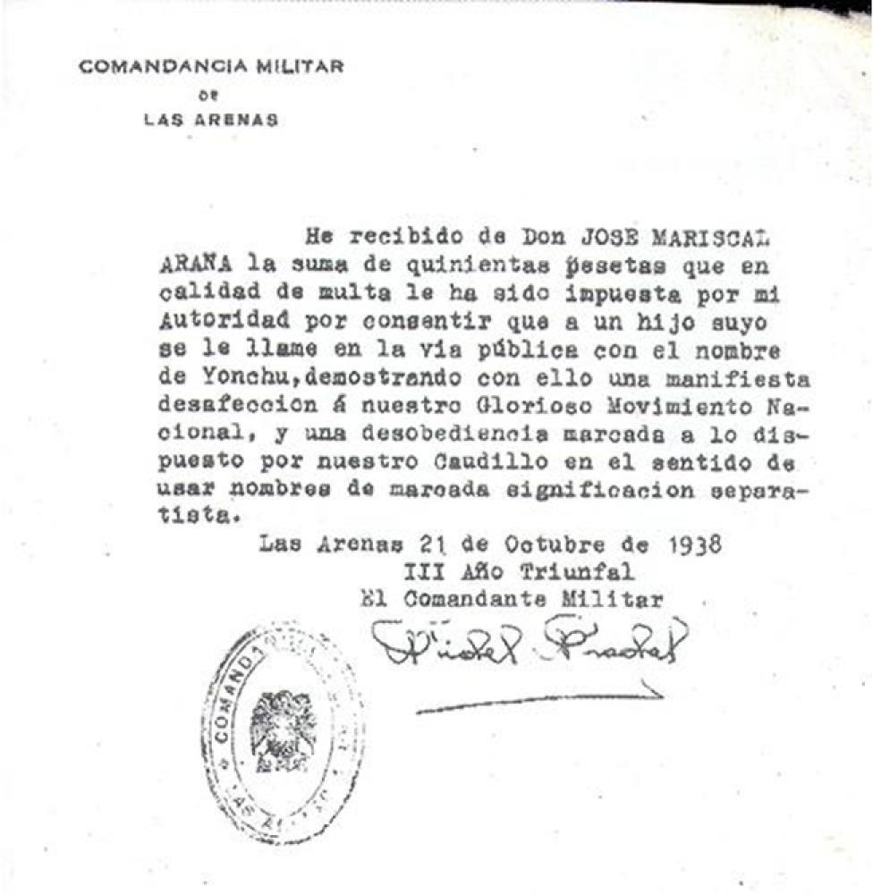 Multa franquista
