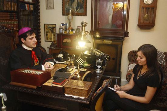 Foto de Santos Cirilo a mi entrevista más surrealista